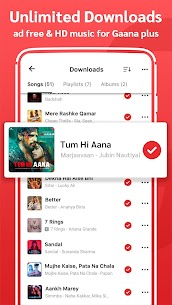 Gaana Music Hindi Tamil Telugu Songs Free MP3 App 4