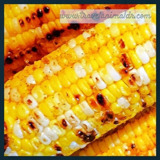 Grilled Mexican Corn.