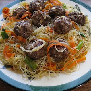 Asian Meatball Recipe