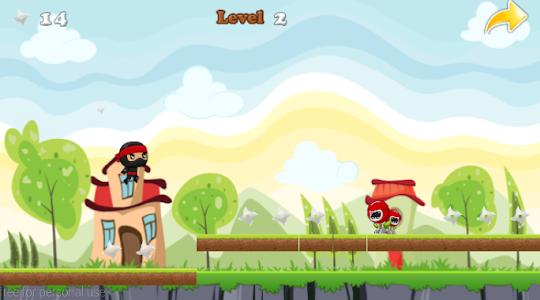 Ninja Jump Running screenshot 17