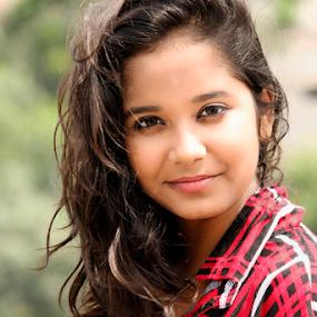 The Future by Rajib Chatterjee - People Portraits of Women