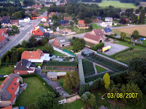 Photo: and other aerial photograph taken in 2007 from the same pheasantry
