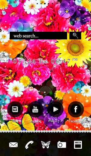 Cute wallpaper★Flower Paradise