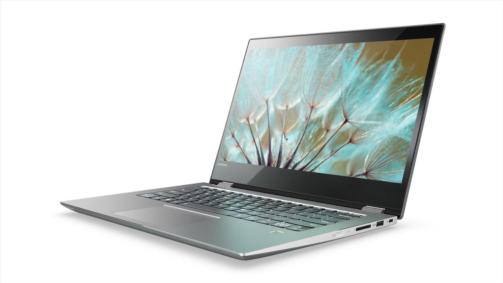 Фото  Ноутбук Lenovo Yoga 520 (81C800DERA) Mineral Grey