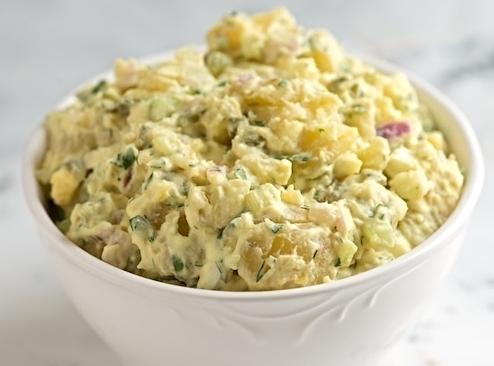 Ida's Great Mistake Potato Salad Recipe