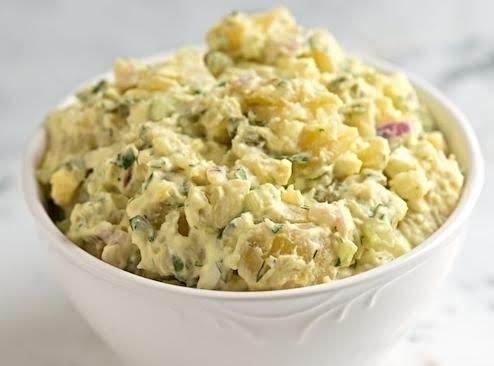 Ida's Great Mistake Potato Salad