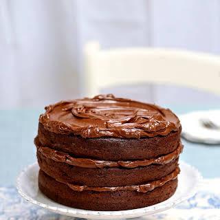 Ultimate Chocolate Fudge Layer Cake.