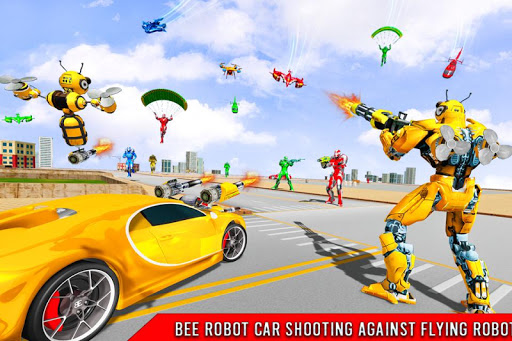 Bee Robot Car Transformation Game: Robot Car Games 1.0.7 screenshots 1