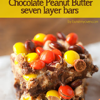 Reese's Chocolate Peanut Butter Seven Layer Bars