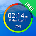 Battery Clock Free icon