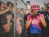 Alberto Bettiol dankt Sep Vanmarcke voor zijn inspanningen in de Ronde