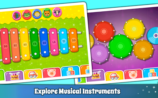 Baby Piano Games & Music for Kids & Toddlers Free 3.0 screenshots 3