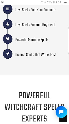 Love Spells Reading to get ex back - love potions App Report on