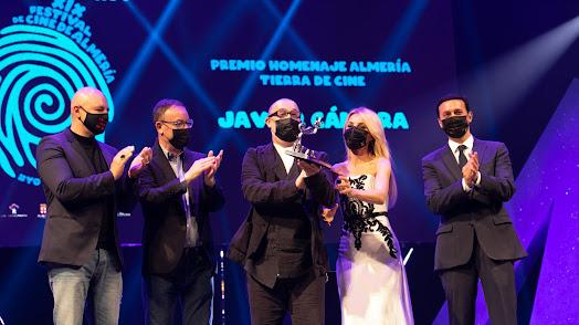 Premio Almería Tierra de Cine para Javier Cámara.