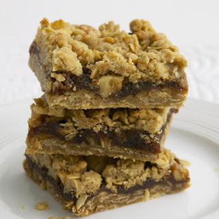 Date and Oat Crumble Bars.