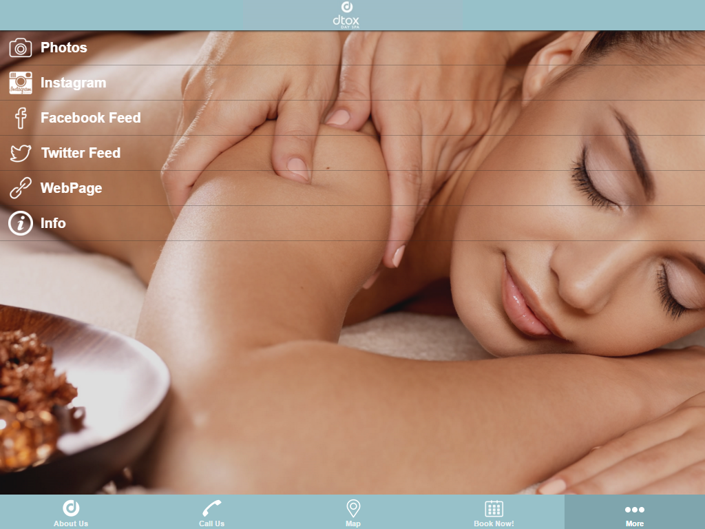 Dtox Day Spa- screenshot