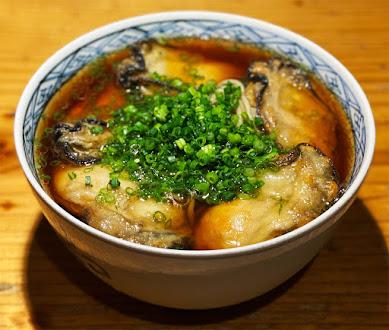 【贅沢グルメ】この季節これしか食べない人もいる「おそばの甲賀」の牡蠣そば / 牡蠣ってこんなにウマかったんだ!