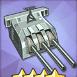 155mm三連装砲T2