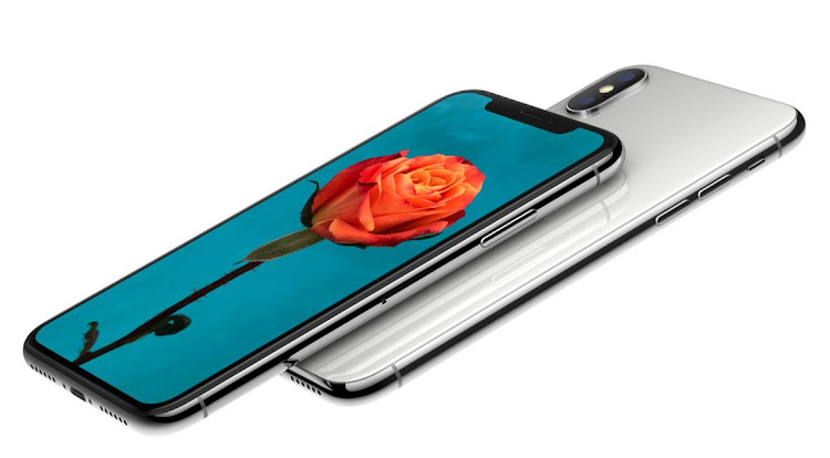 The new Apple iPhone X. File photo.