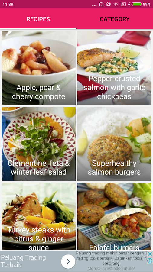 Screenshots of Diabetes-Friendly Food Recipes for iPhone