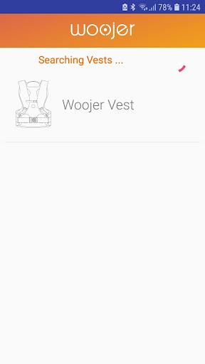 Vest firmware update screenshot 2
