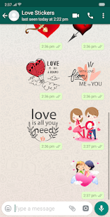 3D Love GIF : Love Stickers Screenshot