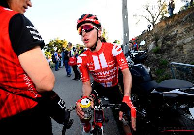 Erg bizar: Belgisch toptalent geeft er al de brui aan in eerste etappe Vuelta