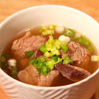 Short rib Soup (갈비탕).
