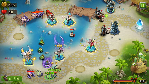 マジックラッシュ (Magic Rush: Heroes) APK screenshot thumbnail 6