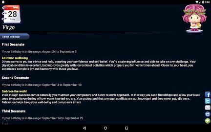 Horoscope HD Free Screenshot 5