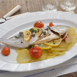 Baked Sea Bream.