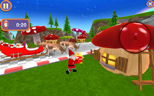 Santa Christmas Infinite Track 1.2 screenshots 1
