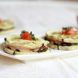 Quesadillas with Eggplant 'Tortillas'