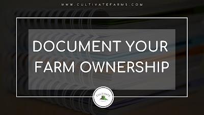 Document your farm ownership journey on social media