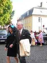 Photo: Prince Franz Friedrich and Princess Susann of Prussia