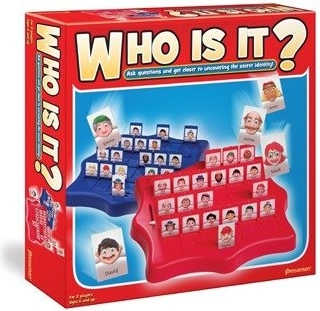 Toys Who Is It? Board Game