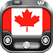 Radio Canada - Radio FM Canada / Radio Player Free Icon