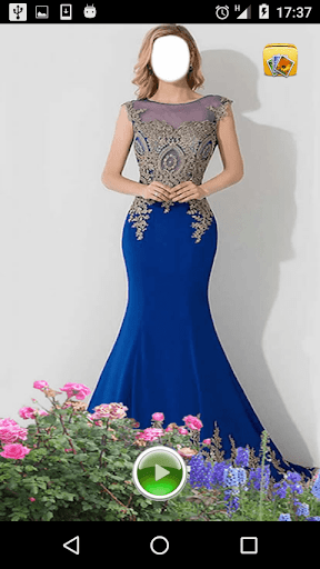 Gown Fashion Photo Frames