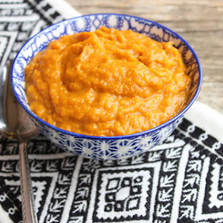 Slow Cooker Creamy Mashed Sweet Potatoes Recipe