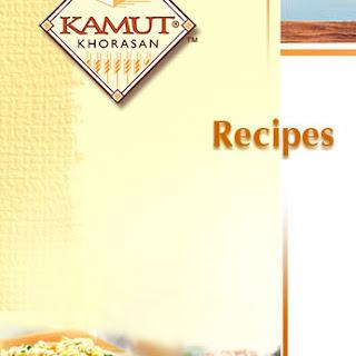 Warm Sweet Potato and KAMUT Brand Khorasan Wheat Salad with Salmon and Walnuts