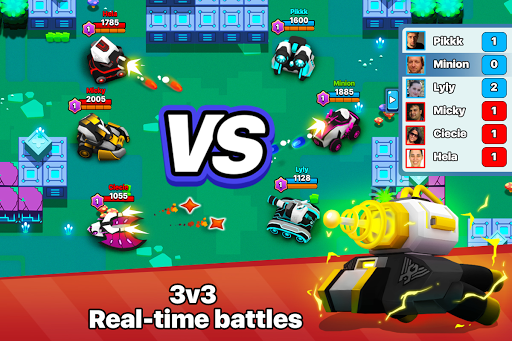 Tank Raid Online - 3v3 Battles 2.67 1