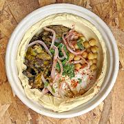 Beef Shawarma Hummus Bowl