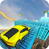 Impossible Tracks - Stunt Car Sky Drift Race 2019 Android APK Download Free By Gamesholic Studios
