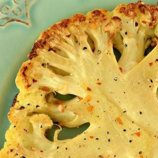 Roasted Cauliflower Steaks Recipe