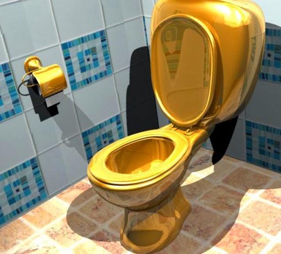 Туалетная бумага из золота