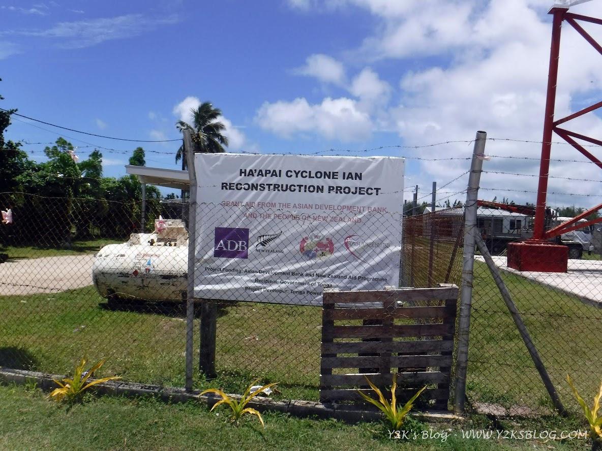 Ricostruzione dopo il ciclone IAN - Ha'apai