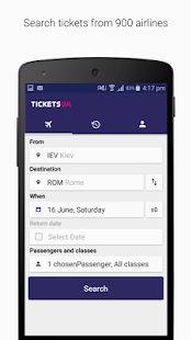 Tickets.ua Cheap flights - náhled