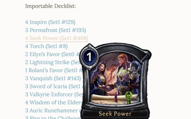 Eternal Card Plugin