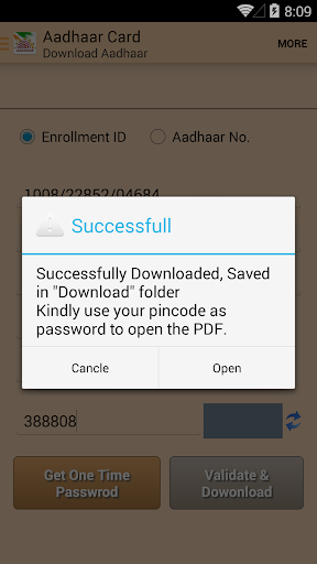 Instant Aadhaar Card screenshot 7