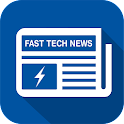Fast breaking news icon
